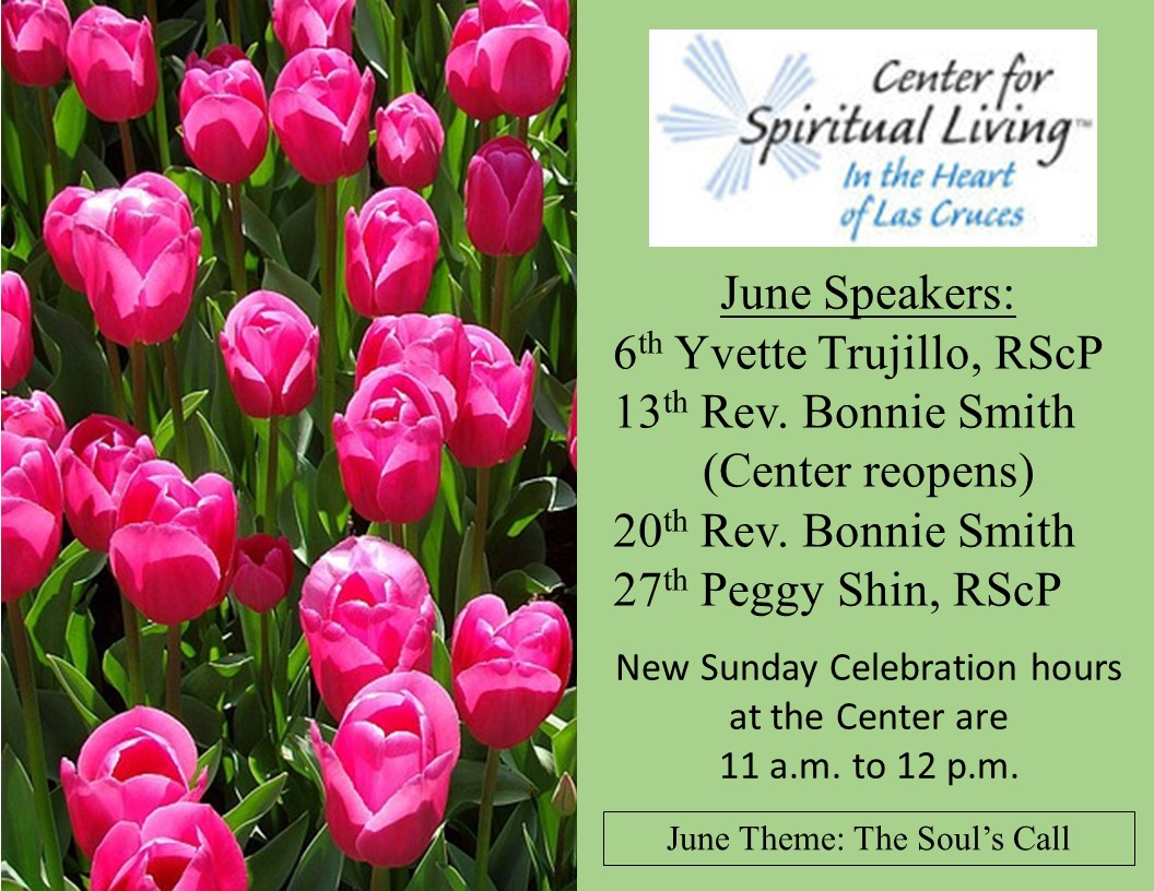 June Speakers